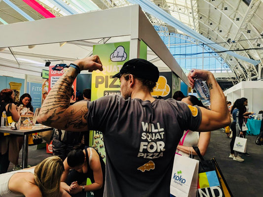 Lo-Dough Goes Down a Storm at Be:FIT London