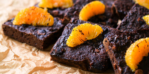 Low-Cal Chocolate Orange Brownies (Brownie Mix)