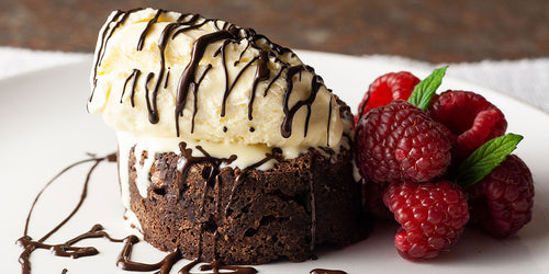 Speedy Low-Cal Hot Chocolate Fudge Cake