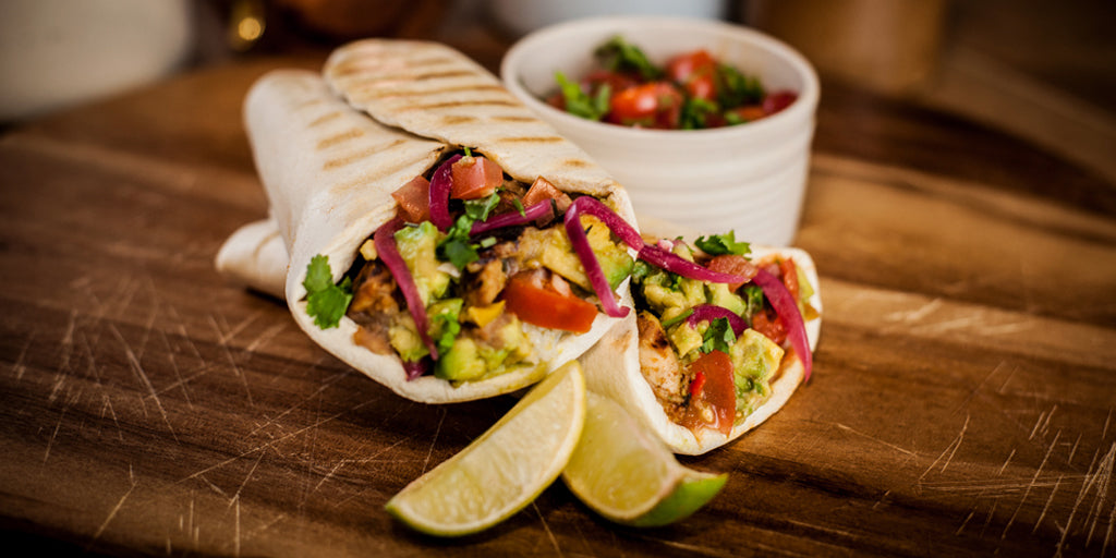 Low Calorie Chicken Burrito