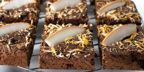 Low-Cal Coconut Brownies