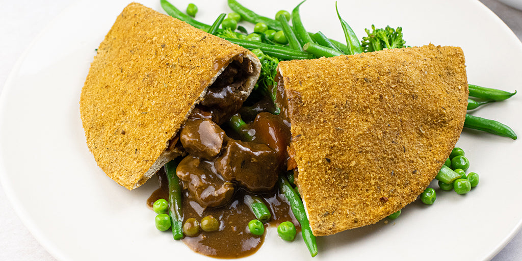 Low Carb Crispy Pancake (Rich Beef Stew)
