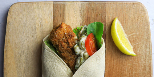 Low-Calorie Fish Finger Wrap