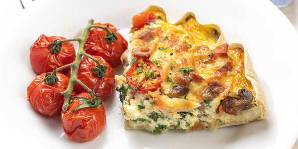 Photo of Low-Calorie Full English Breakfast Quiche
