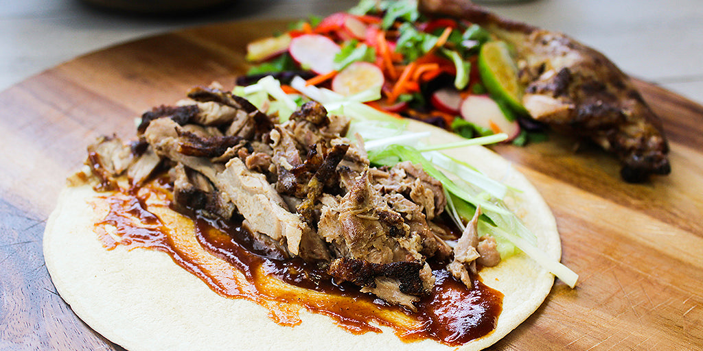 Low Calorie Hoisin Duck Wrap