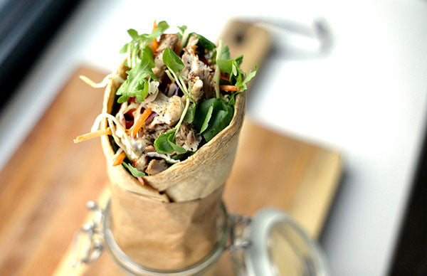 Ultra Slim Chicken, Chilli And Coriander Salad Wrap