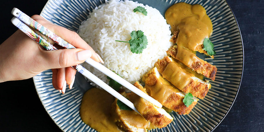 Low-Calorie Katsu Chicken Curry