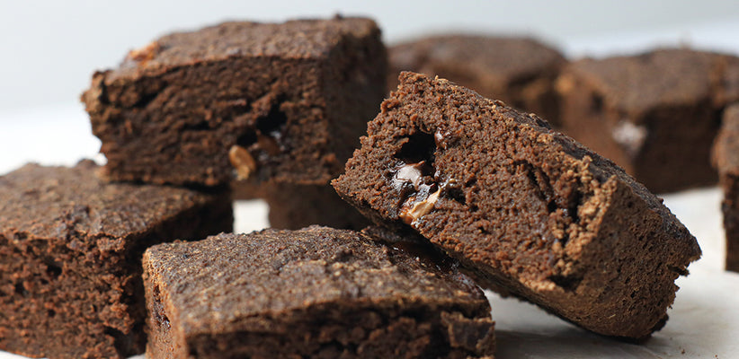 The Easiest Low Calorie Brownies You'll Make