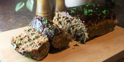 Ultimate Low Carb Meatloaf