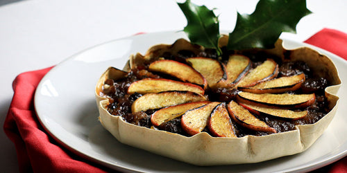 Low-Calorie Mince Pie Tart