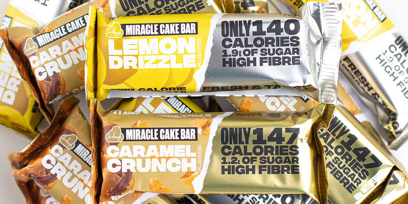 Miracle Cake Bars - The Ultimate Low Sugar Cake Bar
