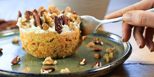 Calorie Counting Carrot Cake