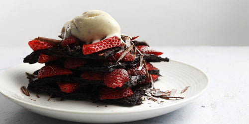 Ultra Low-Calorie Chocolate Pancakes