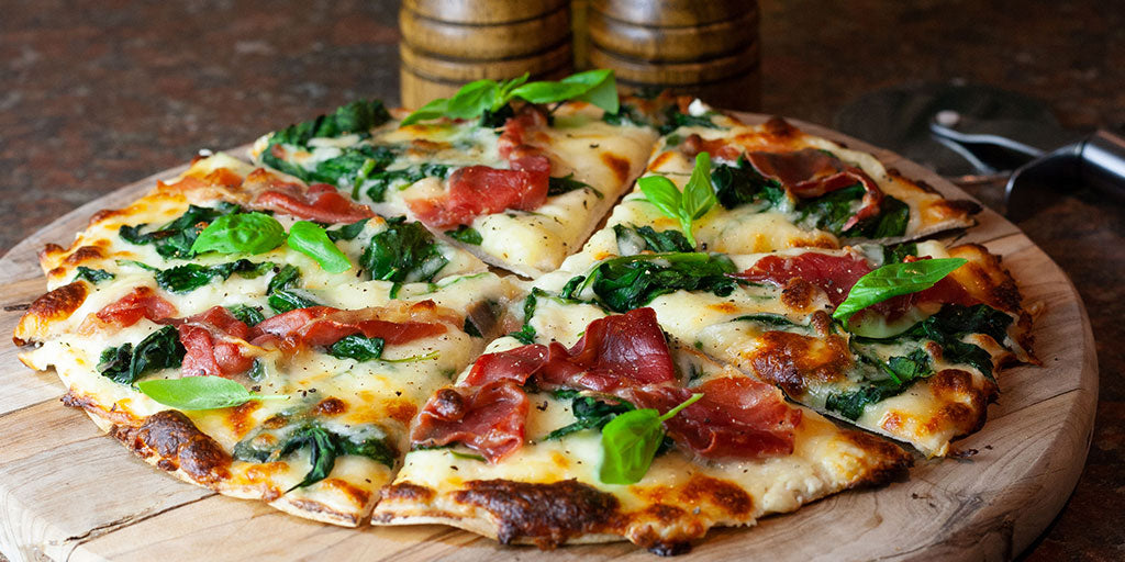 Photo of Prosciutto & Spinach Bianca Pizza