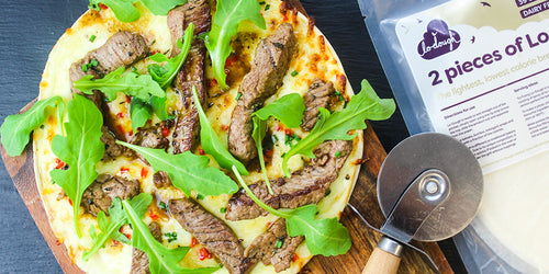 Ultra Low Carb Steak Pizza