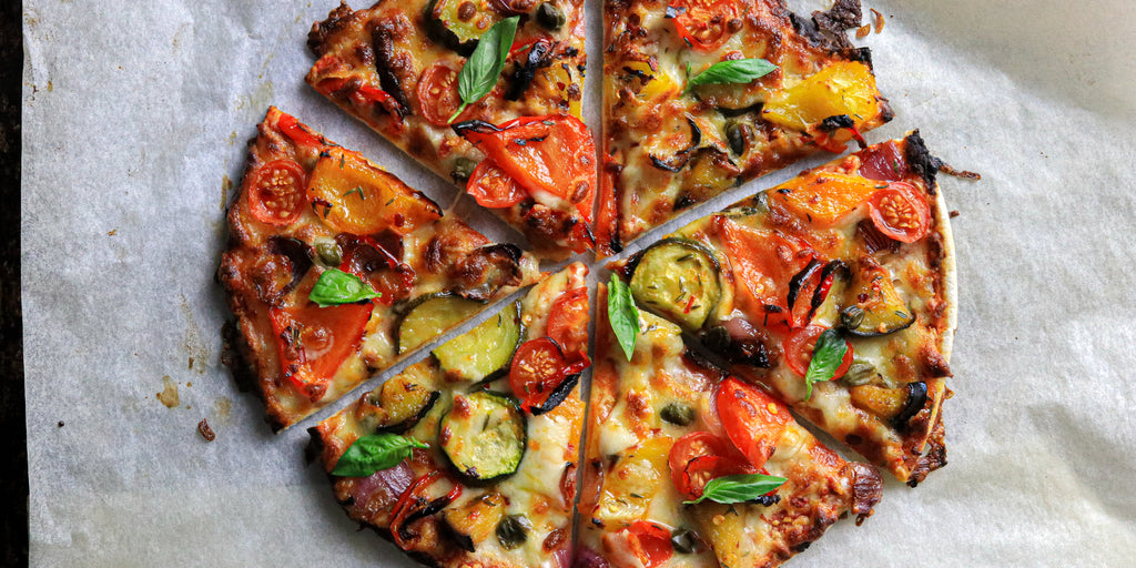 Low-Calorie Spicy Veg Pizza
