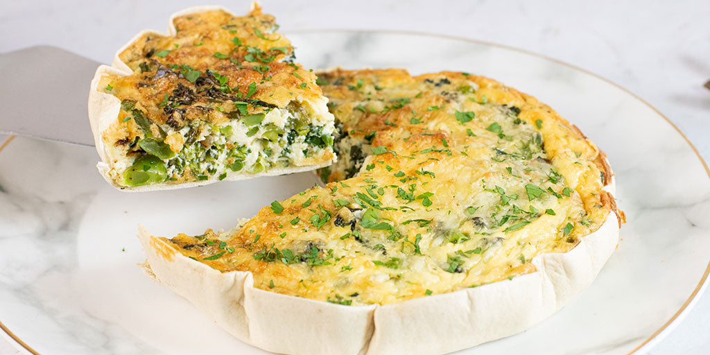 Photo of Ultimate Green Veg Quiche