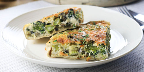 High-Fibre Veggie Quiche