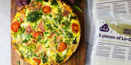 Ham & Broccoli Quiche