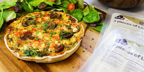 Slimming Friendly Veggie Quiche