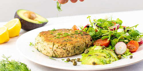 Low Calorie Salmon Fishcakes