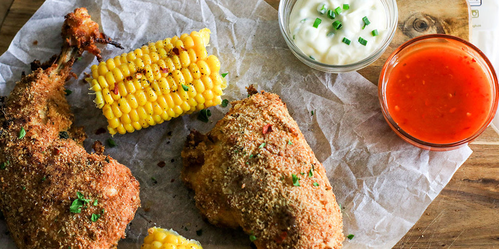 Super Low Carb Southern 'Fried' Chicken