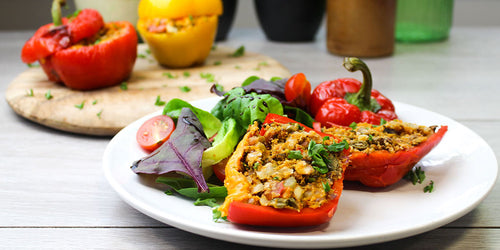 Low-Calorie Stuffed Peppers