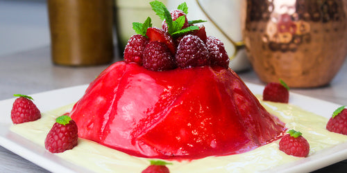 The 64 Calorie Summer Pudding