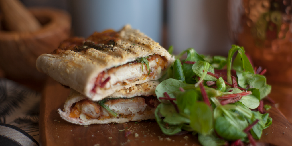 Chicken, Brie & Cranberry Melt