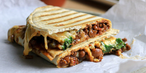 Fibre-Packed Chilli-Cheese Toastie