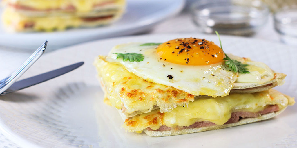 Low-Carb Croque Madame
