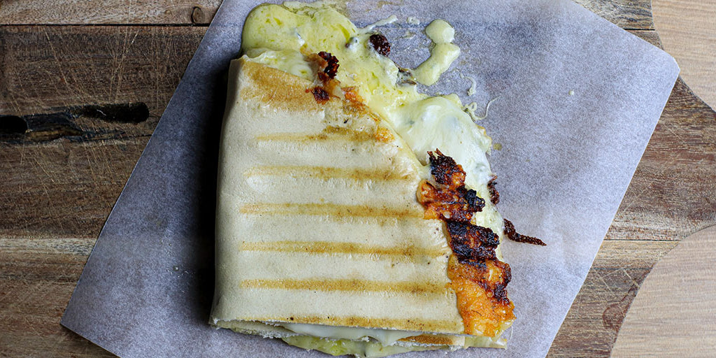 Ultimate Low-Carb Four-Cheese Toastie
