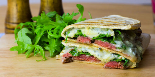 Ultra Low-Carb Steak & Blue Cheese Melt