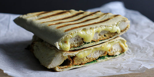 Low-Cal Breaded Chicken Toastie