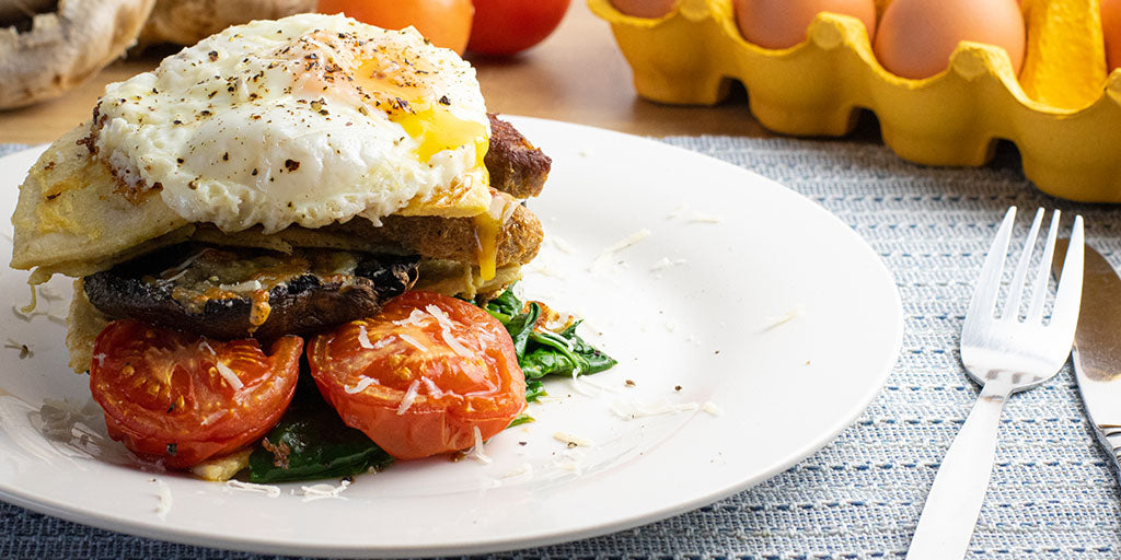 Low-Cal Veggie Breakfast Stack