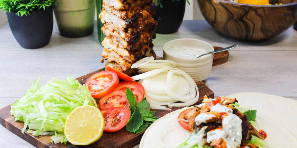 Slimming Friendly Chicken Shawarma