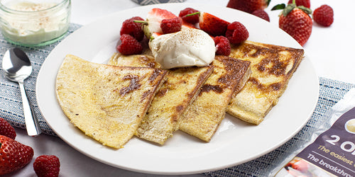 Low-Calorie French Toast (cinnamon flavour)