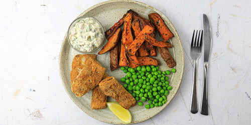 Low-Carb Fish Fingers - Southern Style!