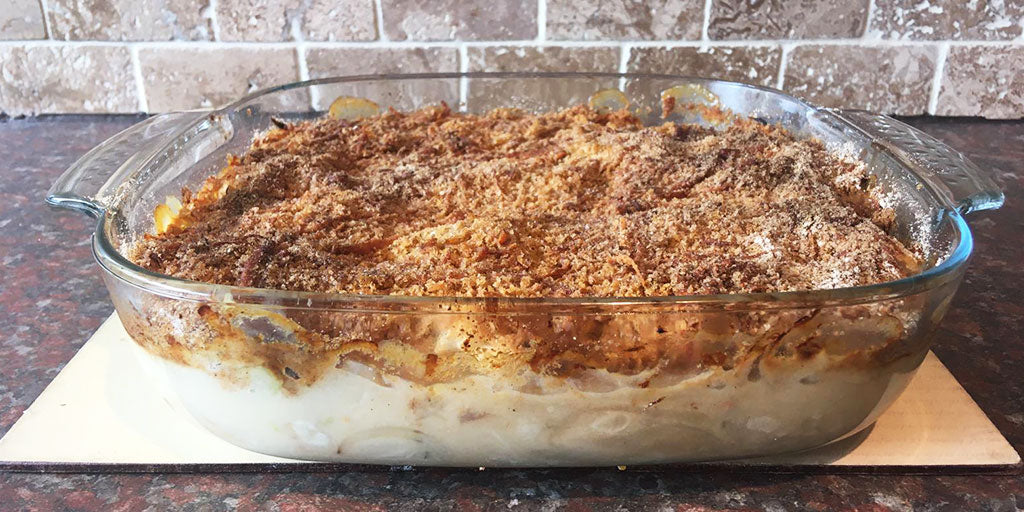 A Simple, Economic Family Gratin