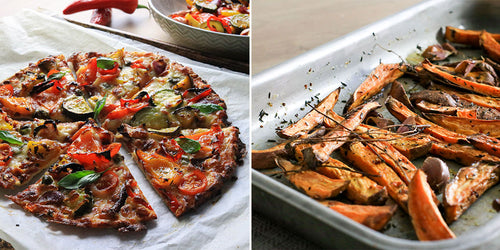 An Incredible 1 Day Meal Plan for 1600 Calories that includes Wine, Pizza & A Brownie!