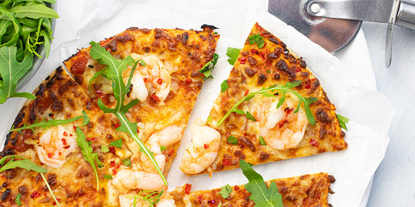 Photo of Chilli Prawn & Rocket Pizza