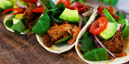 Protein Packed Pulled Pork Tacos