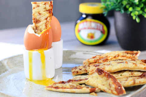 Boiled Egg & Marmite Soldiers