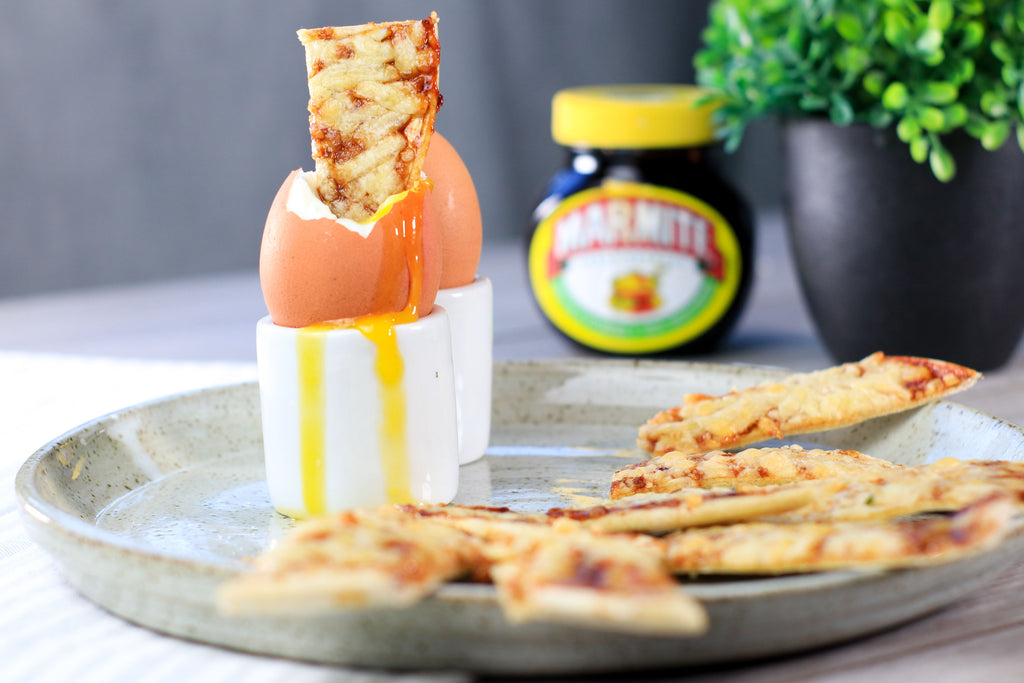 marmite egg and soldiers