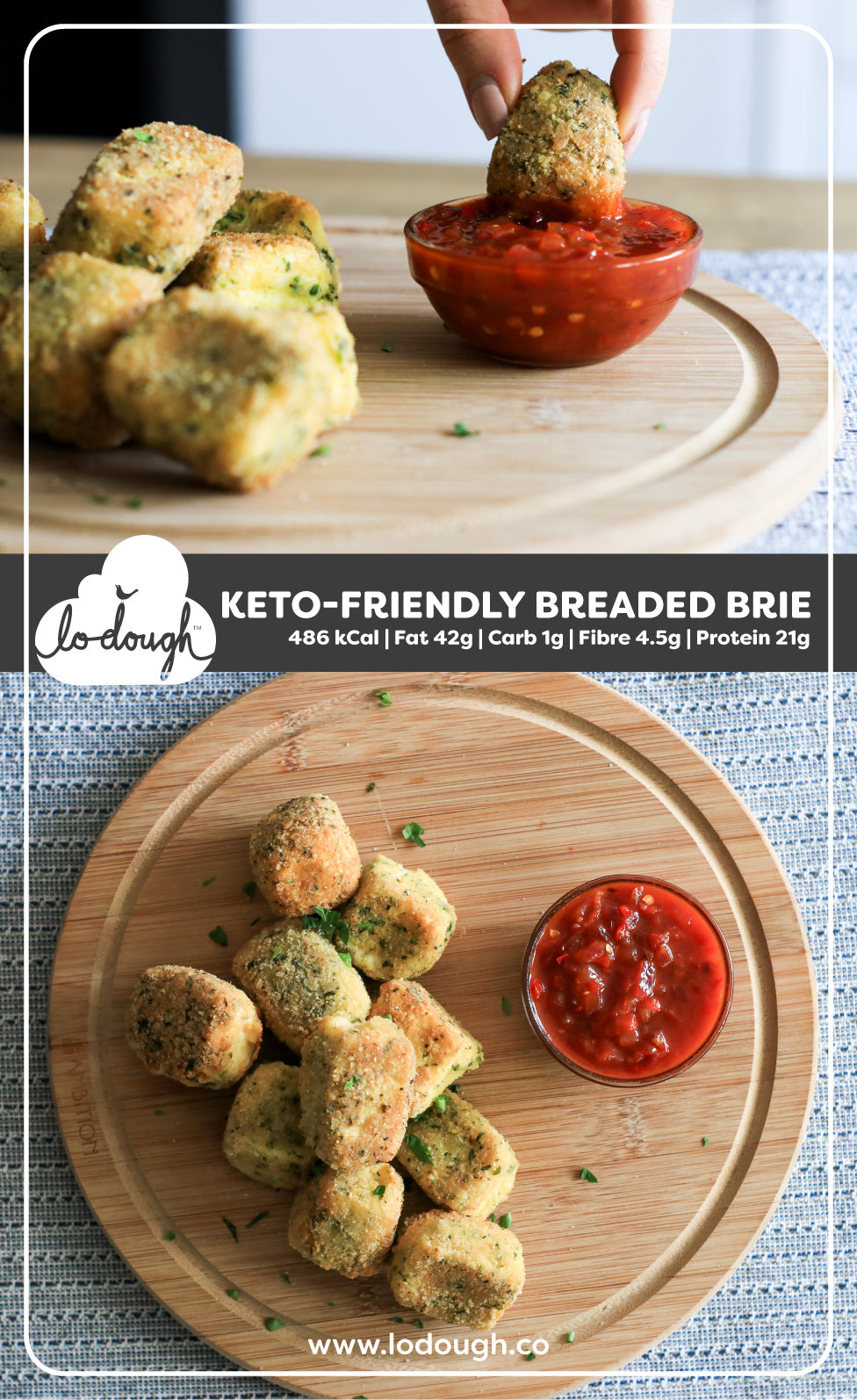 Breaded Brie