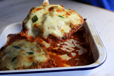 Chicken Parmo low carb