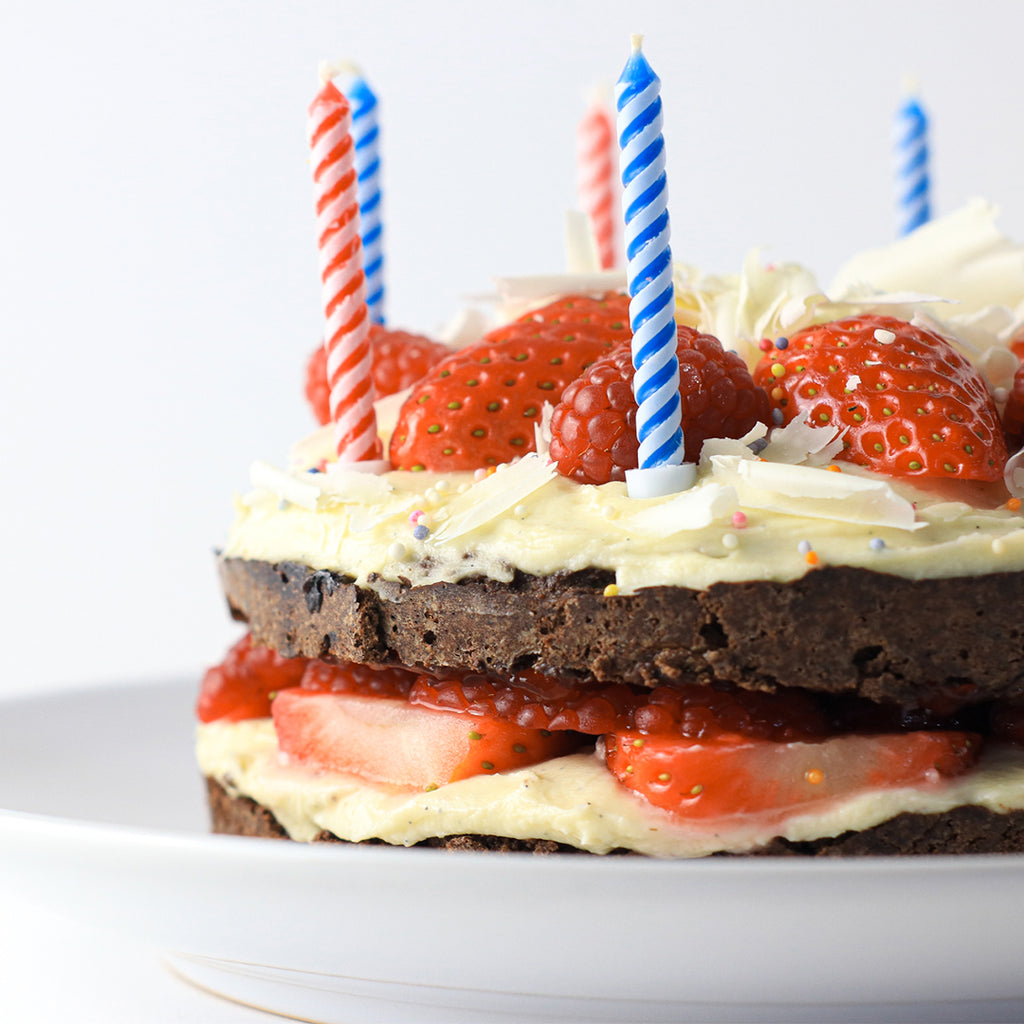 Low calorie birthday cake