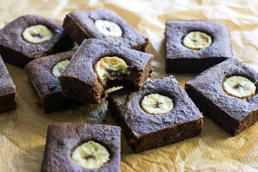 low calorie banana brownies