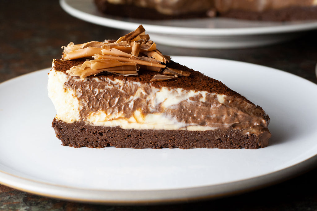 low calorie chocolate cheesecake