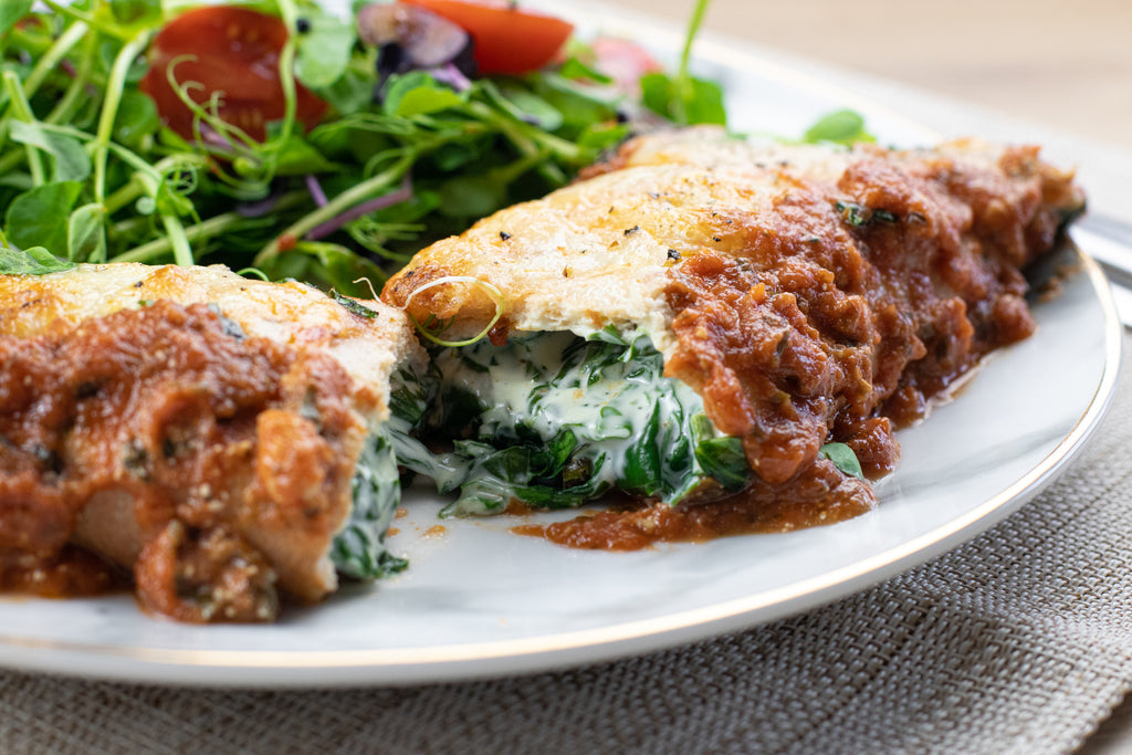 Low carb cannelloni